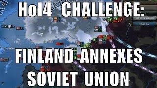 Hearts of Iron 4 Challenge: Finland annexes Soviet Union