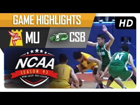MU vs CSB | NCAA 93 | MB | Game Highlights