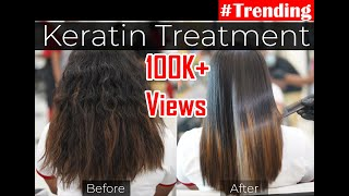 Keratin Treatment - Salon Zero