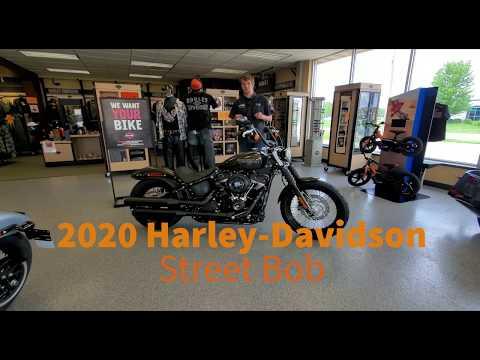2020 Harley-Davidson Street Bob® in Ames, Iowa - Video 1