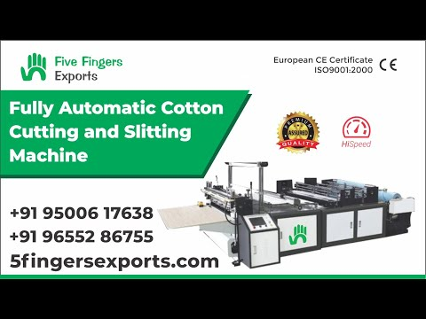 Non Woven Roll Sitting And Cutting Machine
