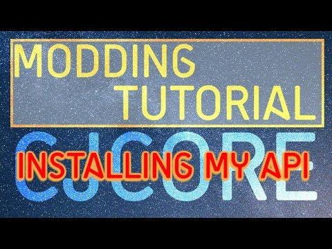 Minecraft Modding Tutorial | CJCore - Installing my API (1.10.2,1.11.2)