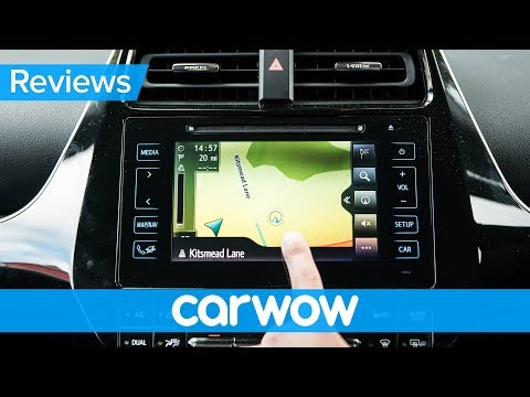 Toyota Prius 2018 infotainment and interior review | Mat Watson Reviews