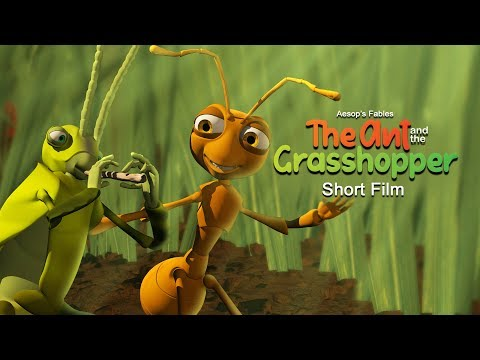 Aesop's Fables: The Ant and the Grasshopper