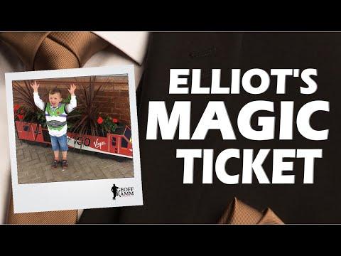 Elliot's Magic Ticket | Customer Experience & Customer Service Speaker | Geoff Ramm