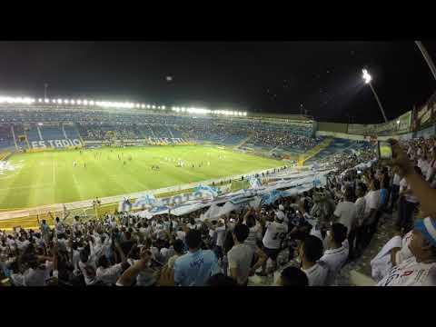 """""""Recibimiento de Alianza vs Fas clausura 2018"""" Barra: La Ultra Blanca y Barra Brava 96 • Club: Alianza"""