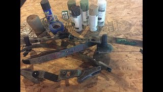 How To: Camo Spray Paint A Trad Bow