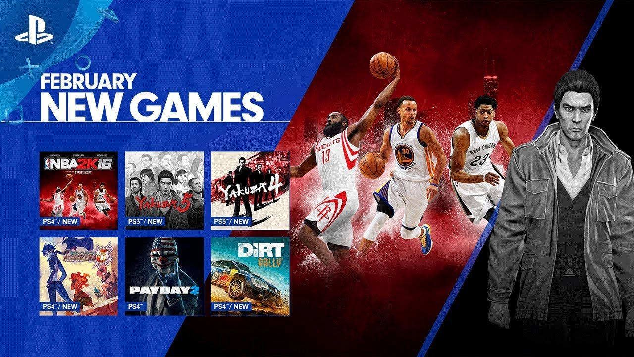 NBA 2K16, Yakuza 5, and More Debut on PS Now