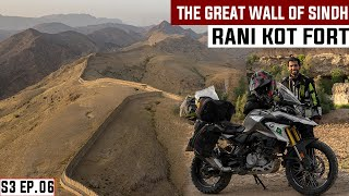 MY WORST CRASH EVER IN RANIKOT FORT S03 EP. 06   Sehwan Sharif   Pakistan Motorcycle Tour