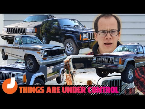Delusional Jeep Hoarder Tries Convincing You That He's Not A Delusional Jeep Hoarder