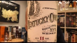 Kentucky Owl 11 Yr Straight Rye. Whisky in the 6 #198