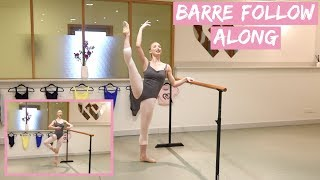 INTERMEDIATE BARRE | FOLLOW ALONG WITH ME!