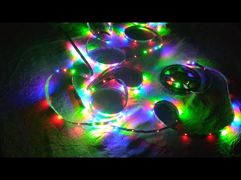 Светодиодная RGB лента с сайта Gearbest / LED RGB Ribbon from Gearbest