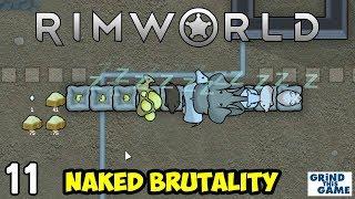 Rimworld 1 0 - Naked Brutality Megabase #11 - CHICKENS - [4k