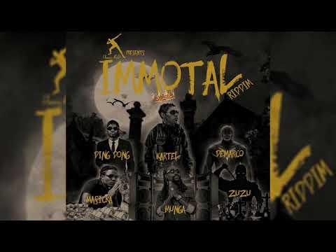 Immortal Riddim Mix (2019) Vybz Kartel,Masicka,Demarco,Munga & More (USAIN BOLT PROD)