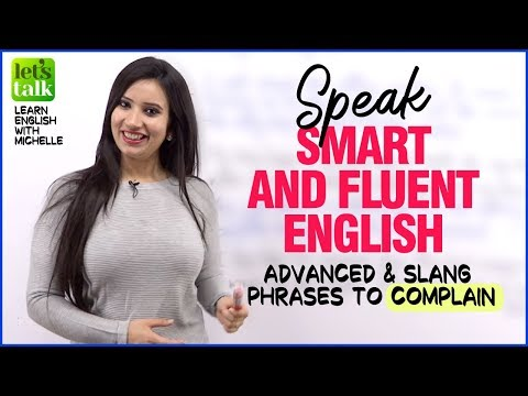 Advanced English Phrases to Complain
