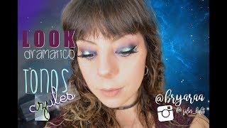 57. Blue Drama Makeup || Bryaraa