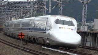 4KJR山陽新幹線臨時のぞみ700系新幹線16両編成福山駅通過
