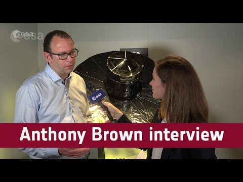 Gaia: Anthony Brown interview at ILA Berlin 2018