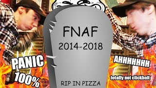 R.I.P FNAF 7 - NO MORE FNAF GAMES BY SCOTT (BUT you should be excited)