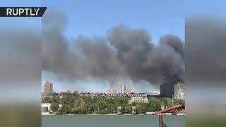 Крупный пожар в Ростове-на-Дону: более 15 частных домов
