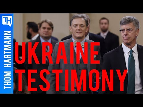 Who Are Ukraine Experts Bill Taylor & George Kent?