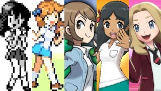 Pokemon Evolution of Lass (1996-2019)