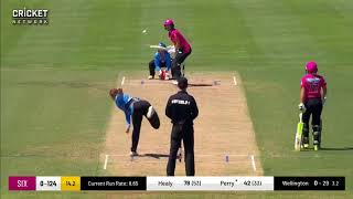Sydney Sixers  innings vs Strikers 1st innings highlights
