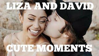 DAVID AND LIZA CUTE/FUNNY MOMENTS