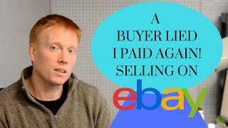 "Ebay Return ""Not As Described"" 