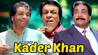 Những Cảnh Hài Hay Nhất Kader Khan | Phim Superhit Dulhe Raja - Chhote Sarkar - Mujhse Shaadi Karogi