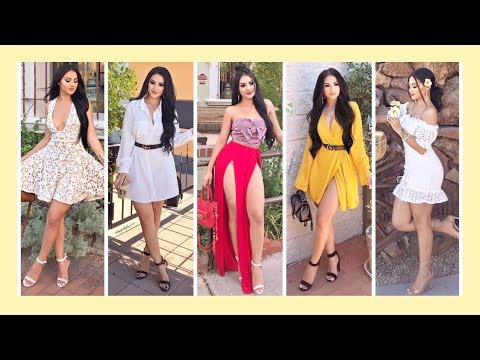 Pretty Little Thing TRY ON HAUL: MARIA PALAFOX
