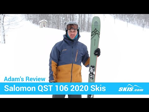 Video: Salomon QST 106 Skis 2020 1 50