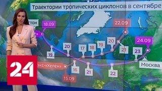"""""""Погода 24"""": Бабье лето сдает позиции - Россия 24"""
