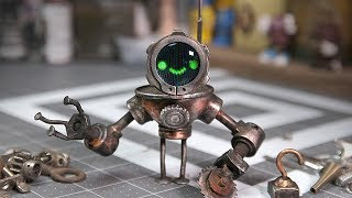 BUILT ME A ROBOT - Soldering Close Joints, How to Solder Nearby Joints