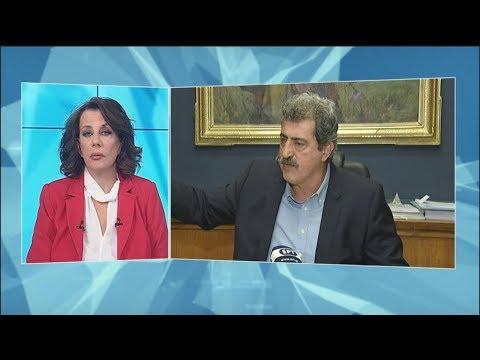 Συνέντευξη Π.Πολάκη στην ΕΡΤ με βολές κατά Στουρνάρα
