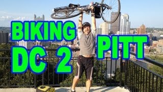 preview picture of video 'Biking: Washington DC to Pittsburgh'