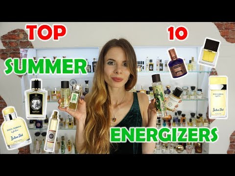 TOP TEN FRESH + ENERGIZING PERFUMES FOR SUMMER  | Tommelise