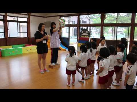 【朝来幼稚園】マリさんの英会話かるた2