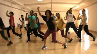 Zumba® Warm Up Routine by Vijaya | Stereo Love (Massive Drum Mix) by Edward Maya Ft. Vika Jigulina