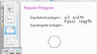 Lesson 1 & 2  Lines, Adding and Subtracting Fractions, Angles, Polygons, Triangles, Quadrilaterals,