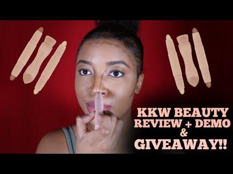 Kim Kardashian West: KKW Contour & Highlight Kit REVIEW/DEMO