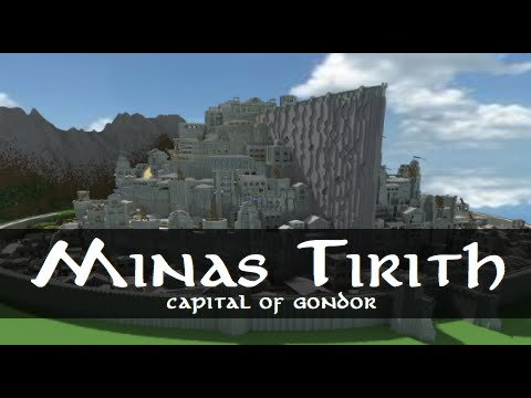 Fabuleux Minas Tirith - Capital of Gondor Minecraft Project EU09