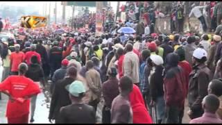 """Rais Kenyatta,Ruto waongoza rhumba la """"Tuko Pamoja"""""""