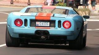 4x Ford GT in Monaco | LOUD REVS + Accelerations