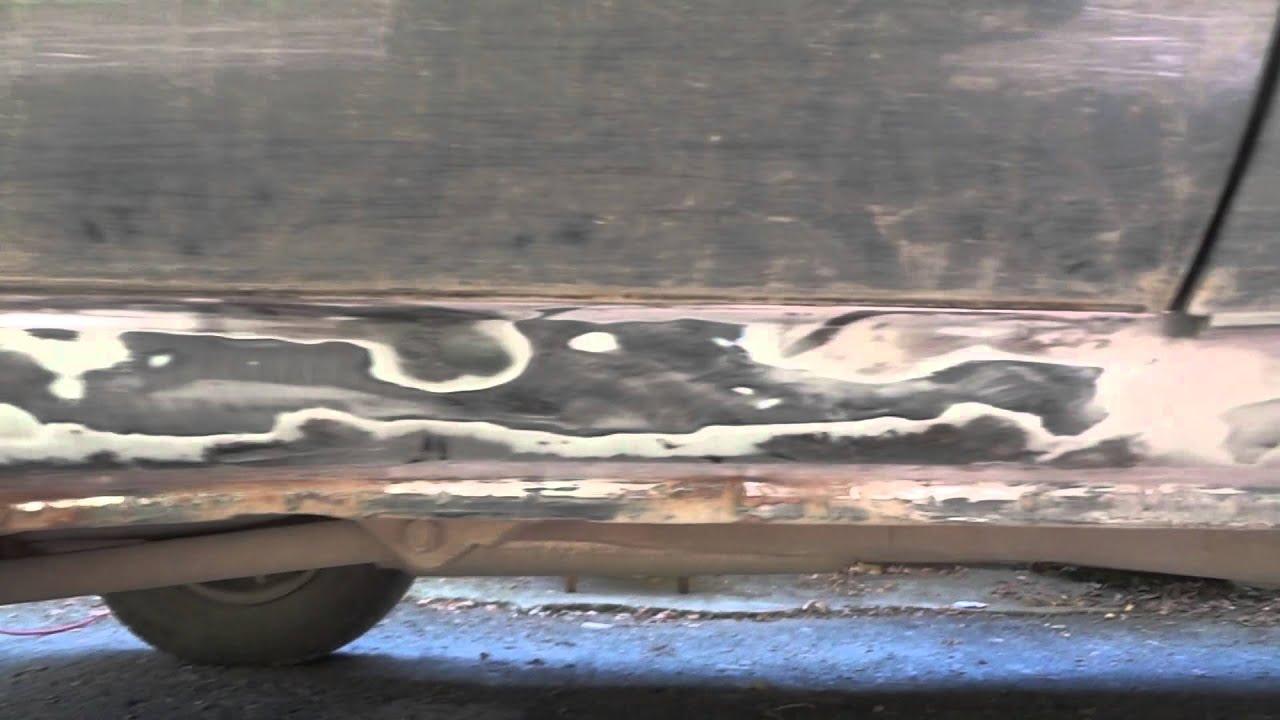 Фото к видео: Часть 1. Нива Шевроле - коррозия на порогах