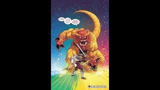 Mangog VS Odin, Thor, Heimdall, The Destroyer, Asgard
