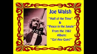 "Joe Walsh- ""Half of the Time"" and ""No Peace in the Jungle"" (1987)"