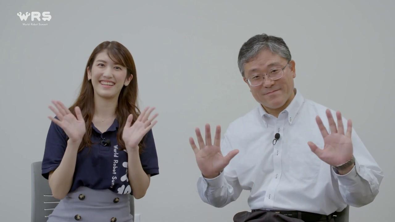 田所諭 競技委員長×杉本雛乃