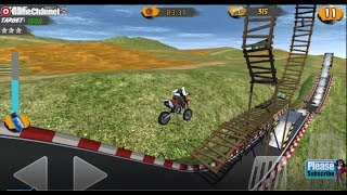 Hill Bike Galaxy Trail World 2 / Motorcycle Racing / Android Gameplay Video #2